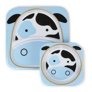 Set de Pratos Zoo Vaca - Skip Hop