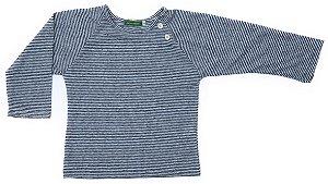 Camiseta Lista Azul