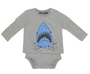 Body Tubarão Cinza
