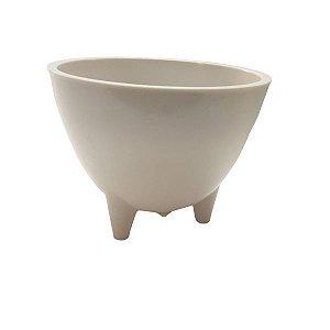 Vaso Decorativo de Melanina com pés