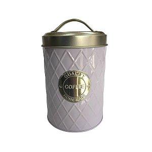 "Lata Branca/Prata ""quality coffee home made"""