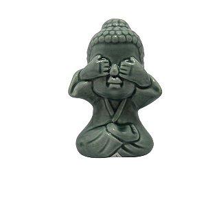 Enfeite Decorativo Buda com Vergonha