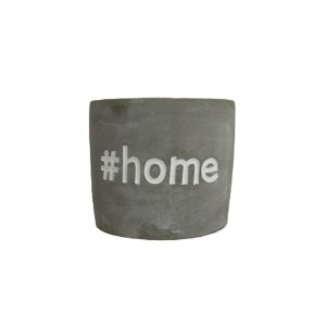 Vaso de Cimento Queimado #Home