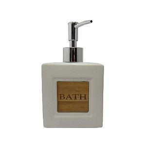 Porta Sabonete Liquido Bath Branco 101389
