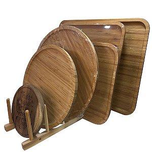 Suporte de Tábuas em madeira