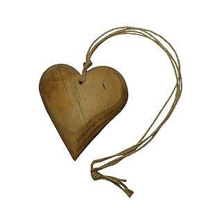 Móbile Coração Madeira