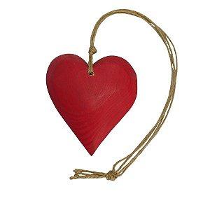 Móbile Coração Vermelho