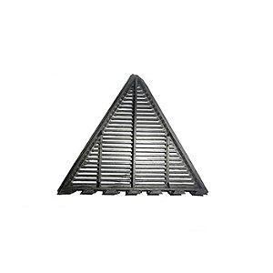 Grade e Placa de ventilação para telha Canaletão Canatele 43