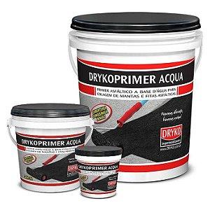 Primer Acqua Dryko Asfáltico Base D'Água para Manta Asfáltica - Balde 18 litros - Dryko