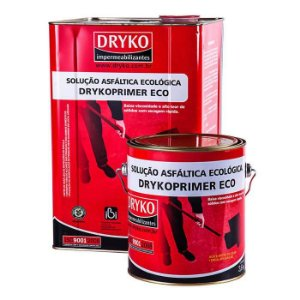 Primer ECO Dryko Asfáltico Base D'Água para Manta Asfáltica - Galão 3,600 litros - Dryko