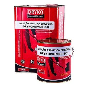 Primer ECO Dryko Asfáltico Base D'Água para Manta Asfáltica - Lata 18litros - Dryko