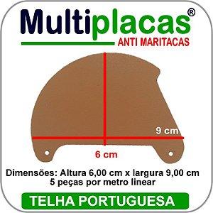 Placa Anti Maritacas Individual Portuguesa