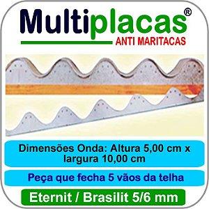 Placa Anti Maritacas Regua Amianto 5 e 6 mm 1 metro