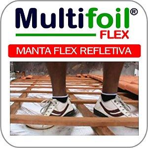 Manta termica para telhado 1 face - m² - Multifoil FLEX