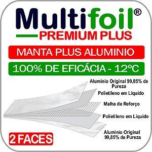 Multifoil PREMIUM PLUS - Manta termica de subcobertura 2 faces (Kit 35m²) - Fita Grátis
