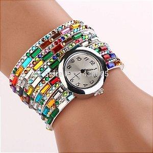 Relógio de Pulseira Colorida