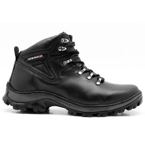 Coturno Adventure Atron Shoes Trilha 254 preto