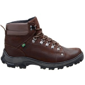 Coturno Adventure Atron Shoes Trilha 267 Café