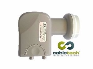 Lnbf Ku Duplo Cabletech Universal Lnb Hd 66db