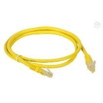 Patch Cord cat5e - amarelo