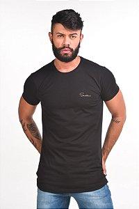 T-SHIRT LONG CLASSIC BLACK