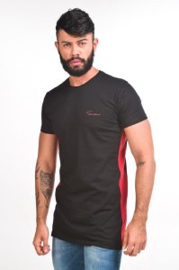 T-SHIRT LONG SIDE RED