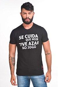T-SHIRT SE CUIDA BLACK - PROMOÇÃO