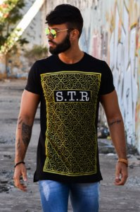T-SHIRT LONG GOLD GATE