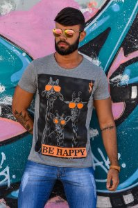 T-SHIRT BE HAPPY