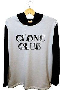 MOLETOM CLONE CLUB (CAPUZ)