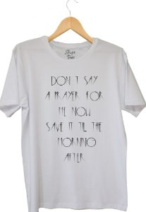 CAMISETA TEARS FOR FEARS DON´T