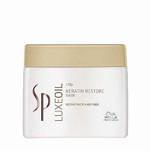 SP System Professional Luxe Oil Keratin Restore - Máscara de Tratamento - 400ml