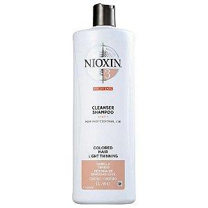 Nioxin System 3 Cleanser - Shampoo 1000ml