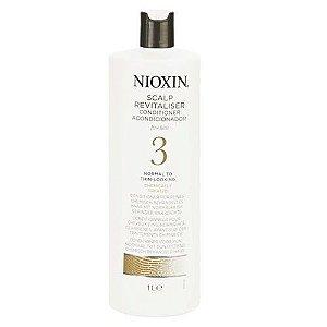 Nioxin Scalp Revitaliser 3 Condicionador - 1000ml