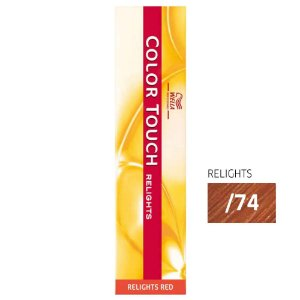 Tonalizante Color Touch Relights /74 Marrom Avermelhado - 60G - Wella Professionals