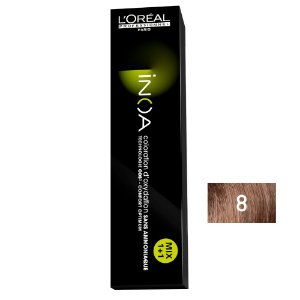 Coloração Inoa 8 Louro Claro 60g - L'Oréal Professionnel