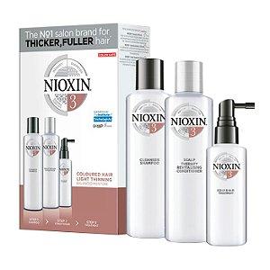 Nioxin System 3 Kit de Tratamento - Pequeno (3 Produtos)