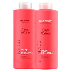 Invigo Color Brilliance Duo (2 Produtos) 1000ml - Kit Wella Professionals
