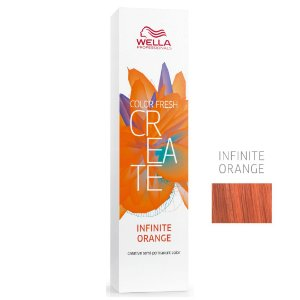 Coloração Color Fresh Create Infinite Orange - Semipermanente 60G - Wella Professionals