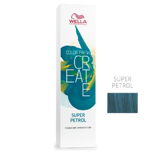 Coloração Color Fresh Create Super Petrol Semipermanente 60G - Wella Professionals
