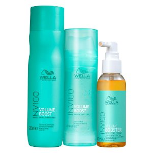 Invigo Volume Boost Trio (3 Produtos) - Kit Wella Professionals