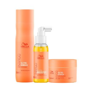 Invigo Nutri-Enrich Booster Trio (3 Produtos) - Kit Wella Professionals