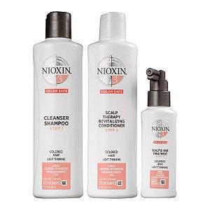 Nioxin System 3 Kit de Tratamento - Grande (3 Produtos)