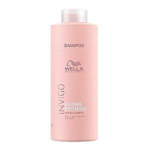 Shampoo Wella Professionals Invigo Blonde Recharge 1 Litro