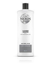 Nioxin System 1 Cleanser Shampoo - 1000ml