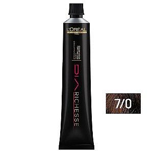 Tonalizante Diarichesse 7.0 Louro Profundo 80g - L'Oréal Professionnel