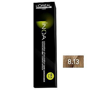 Coloração Inoa 8.13 Louro Claro Cinza Dourado 60g - L'Oréal Professionnel