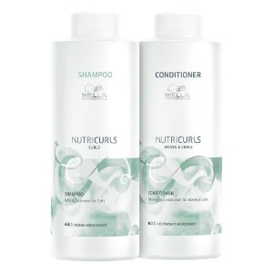 Kit Nutricurls Salon Duo (2 Produtos) - Wella Professionals