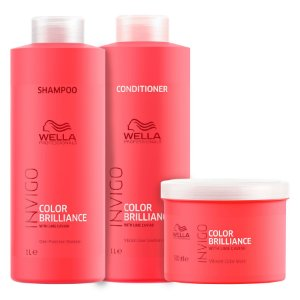 Kit Invigo Color Brilliance Salon Trio (3 Produtos) - Wella Professionals