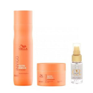Kit Invigo Nutri Enrich + Oil Reflections Light - Wella